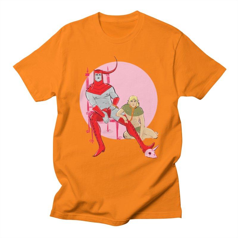 Dungeons Women's Regular Unisex T-Shirt by Ego Rodriguez