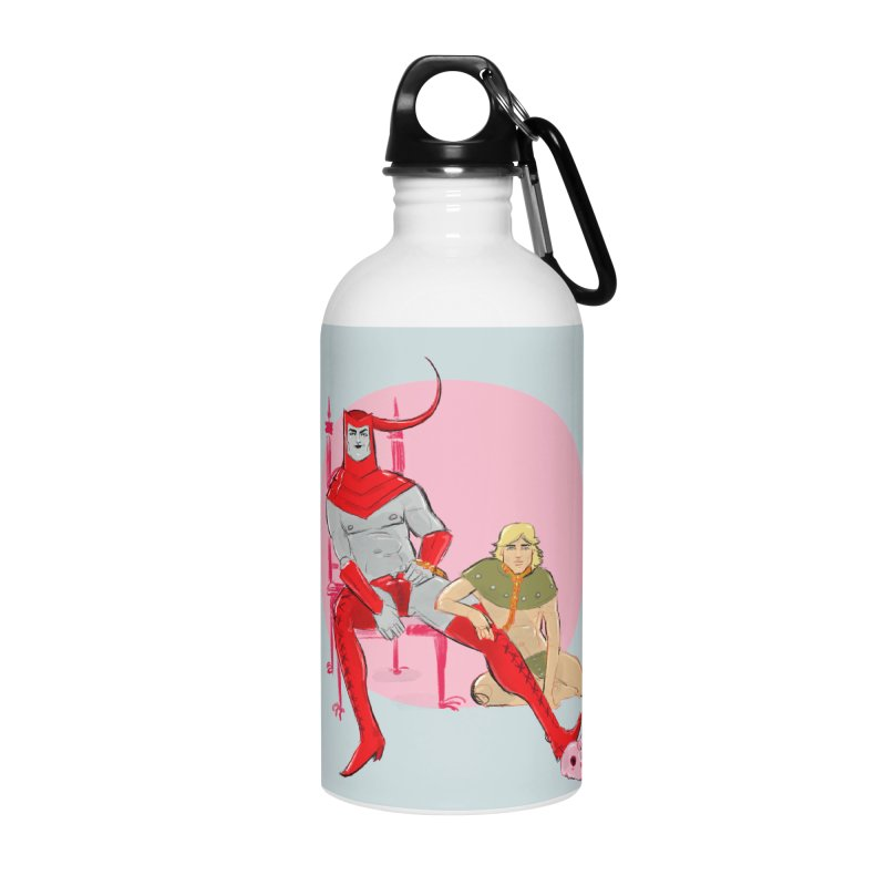 Dungeons Accessories Water Bottle by Ego Rodriguez