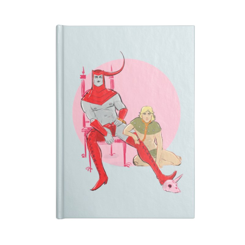 Dungeons Accessories Blank Journal Notebook by Ego Rodriguez