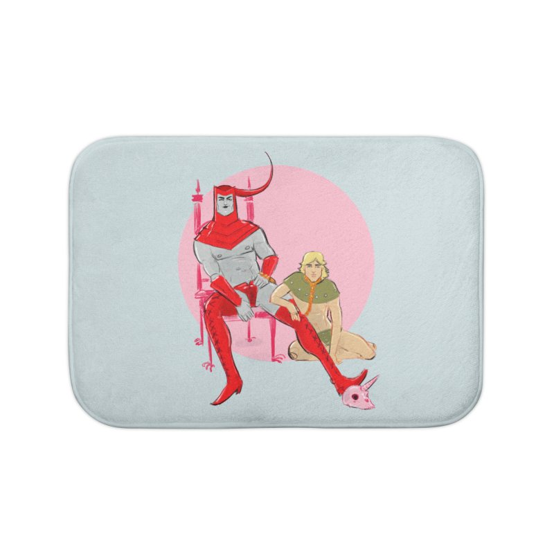 Dungeons Home Bath Mat by Ego Rodriguez