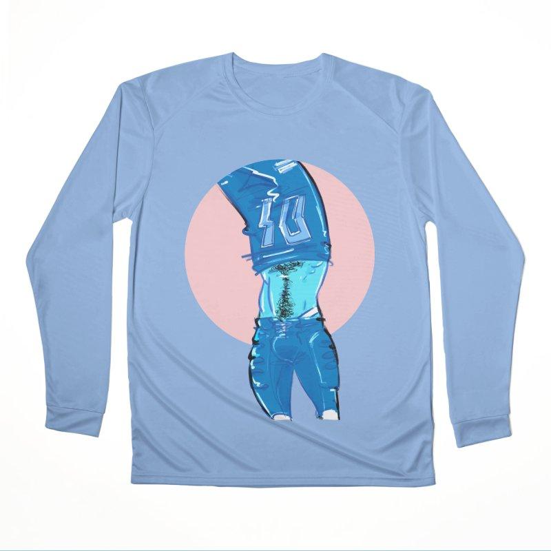 Football Men's Longsleeve T-Shirt by Ego Rodriguez