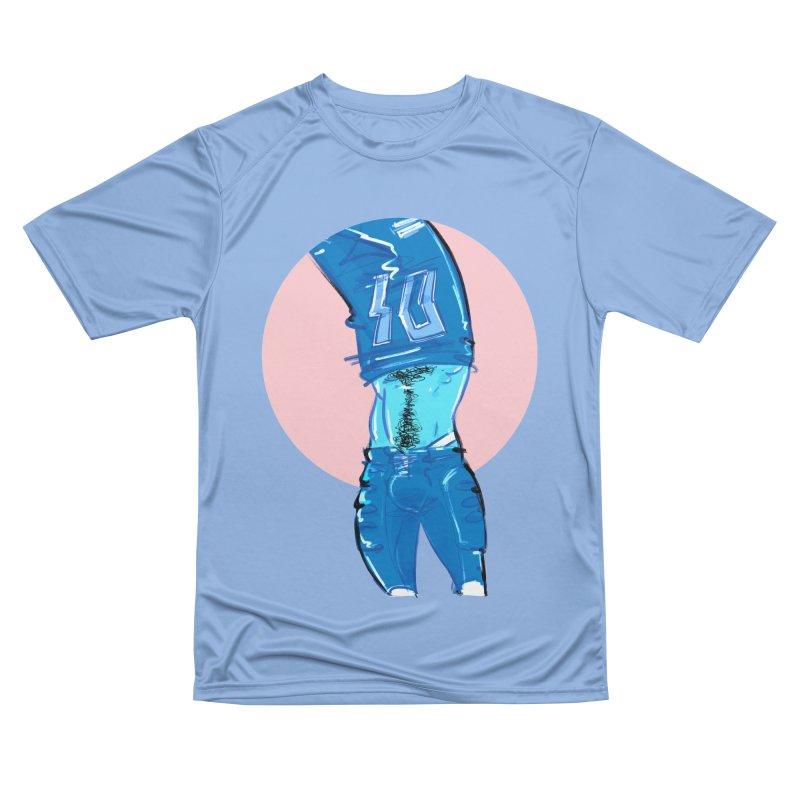 Football Women's Performance Unisex T-Shirt by Ego Rodriguez