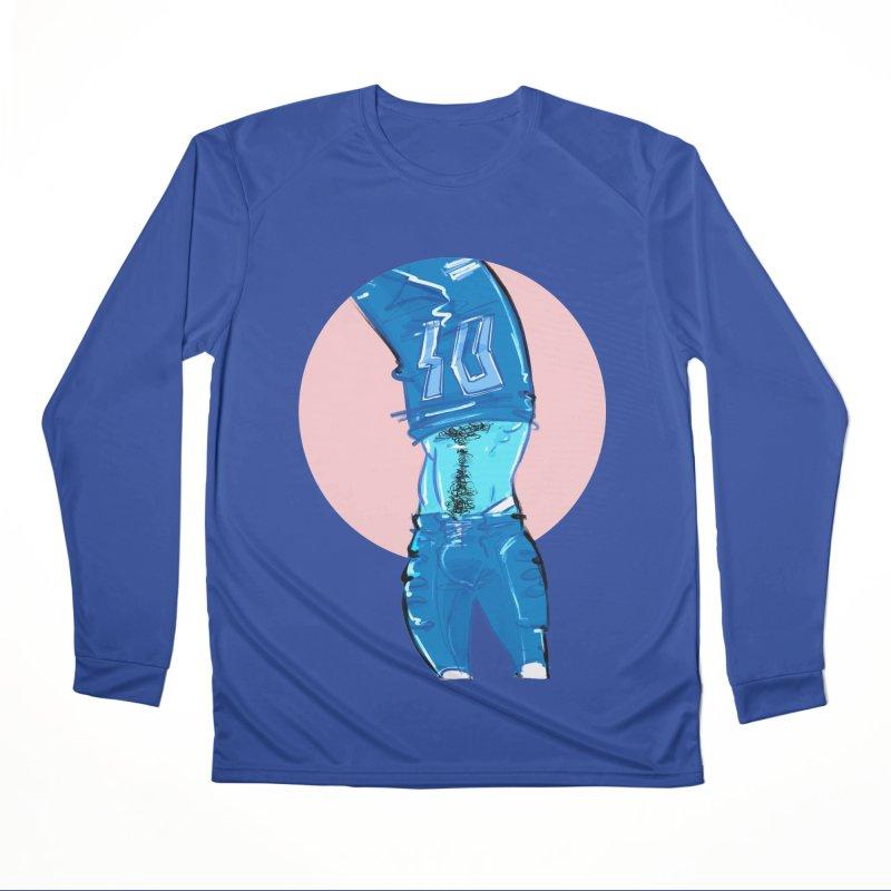 Football Women's Performance Unisex Longsleeve T-Shirt by Ego Rodriguez