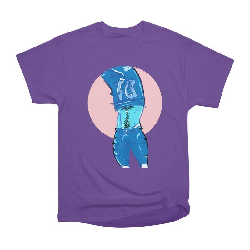 Football Women's Heavyweight Unisex T-Shirt by Ego Rodriguez