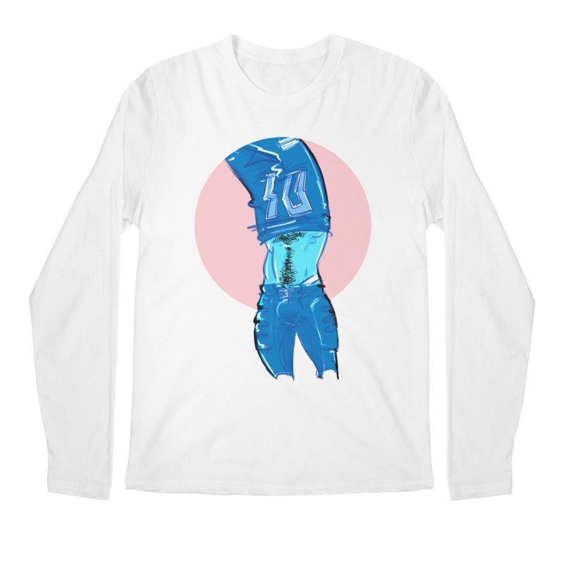 Football Men's Regular Longsleeve T-Shirt by Ego Rodriguez
