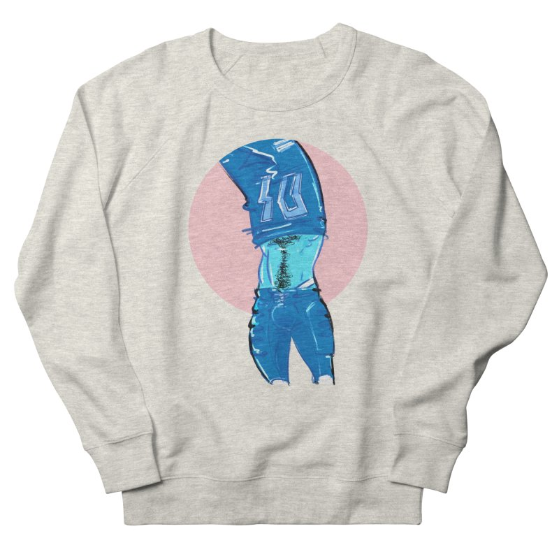 Football Women's French Terry Sweatshirt by Ego Rodriguez