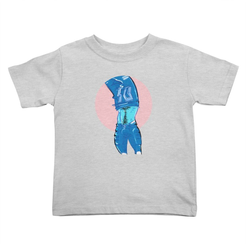 Football Kids Toddler T-Shirt by Ego Rodriguez