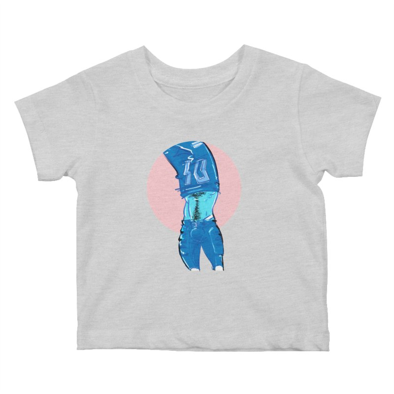 Football Kids Baby T-Shirt by Ego Rodriguez