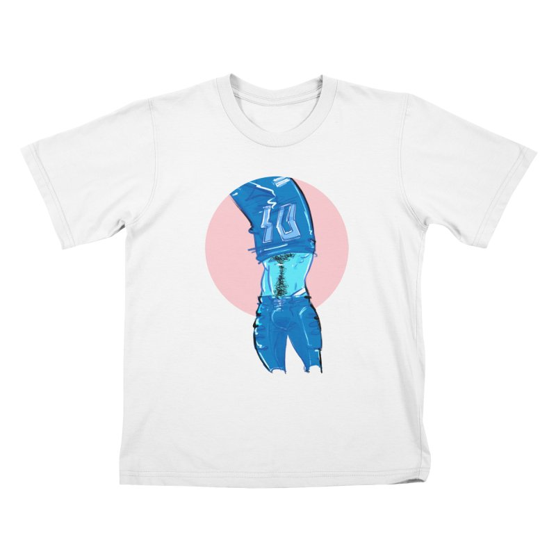 Football Kids T-Shirt by Ego Rodriguez