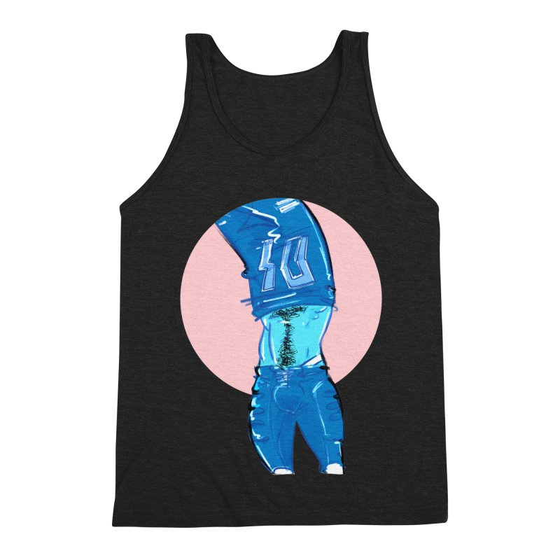 Football Men's Triblend Tank by Ego Rodriguez