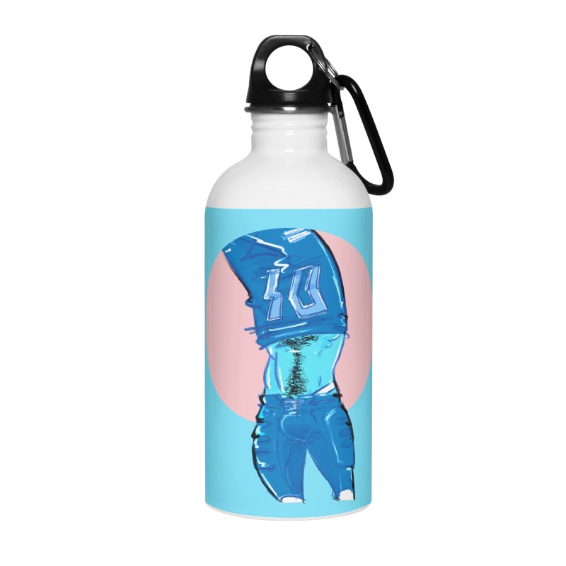 Football Accessories Water Bottle by Ego Rodriguez