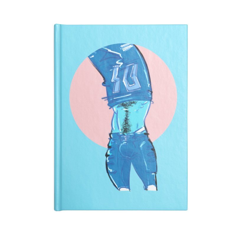 Football Accessories Blank Journal Notebook by Ego Rodriguez