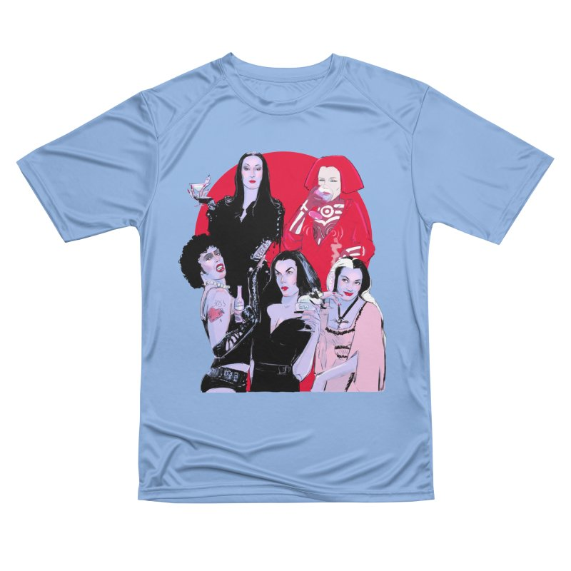 Ghouls Nite Out in Men's Performance T-Shirt Bimini Blue by Ego Rodriguez