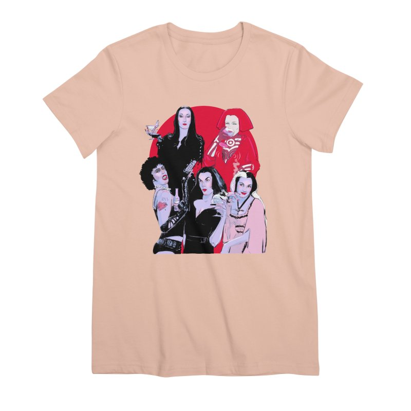 Ghouls Nite Out Women's Premium T-Shirt by Ego Rodriguez