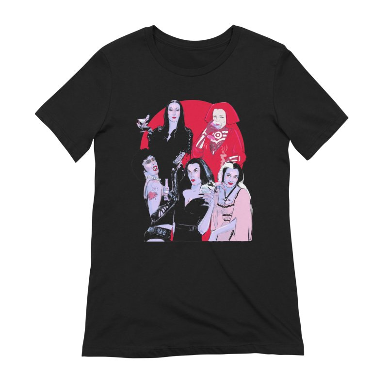Ghouls Nite Out Women's Extra Soft T-Shirt by Ego Rodriguez