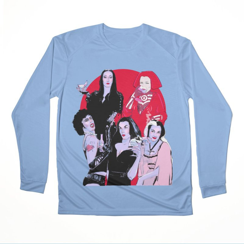 Ghouls Nite Out Women's Performance Unisex Longsleeve T-Shirt by Ego Rodriguez