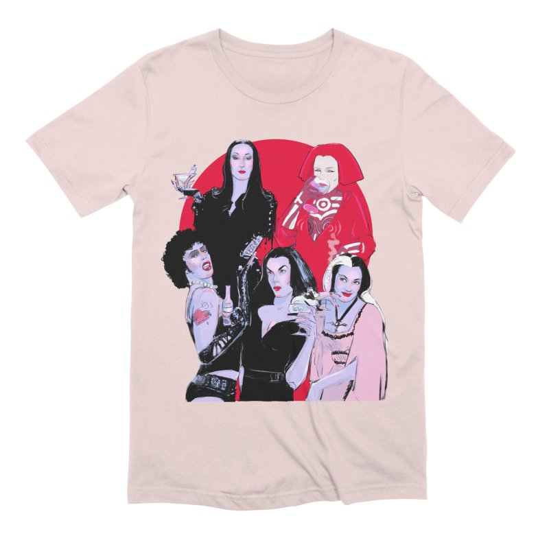 Ghouls Nite Out Men's Extra Soft T-Shirt by Ego Rodriguez