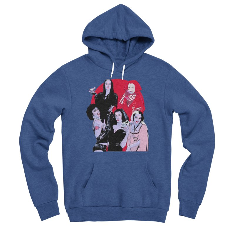 Ghouls Nite Out Men's Sponge Fleece Pullover Hoody by Ego Rodriguez