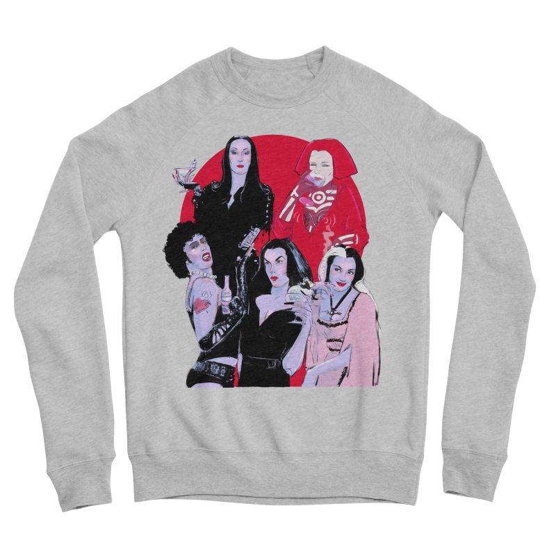 Ghouls Nite Out Men's Sponge Fleece Sweatshirt by Ego Rodriguez
