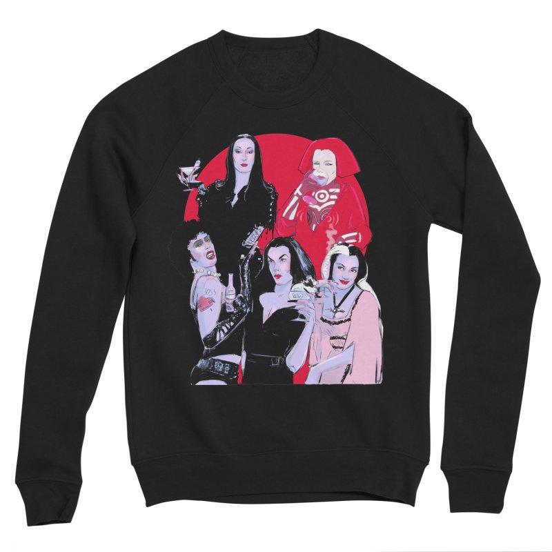 Ghouls Nite Out Women's Sponge Fleece Sweatshirt by Ego Rodriguez