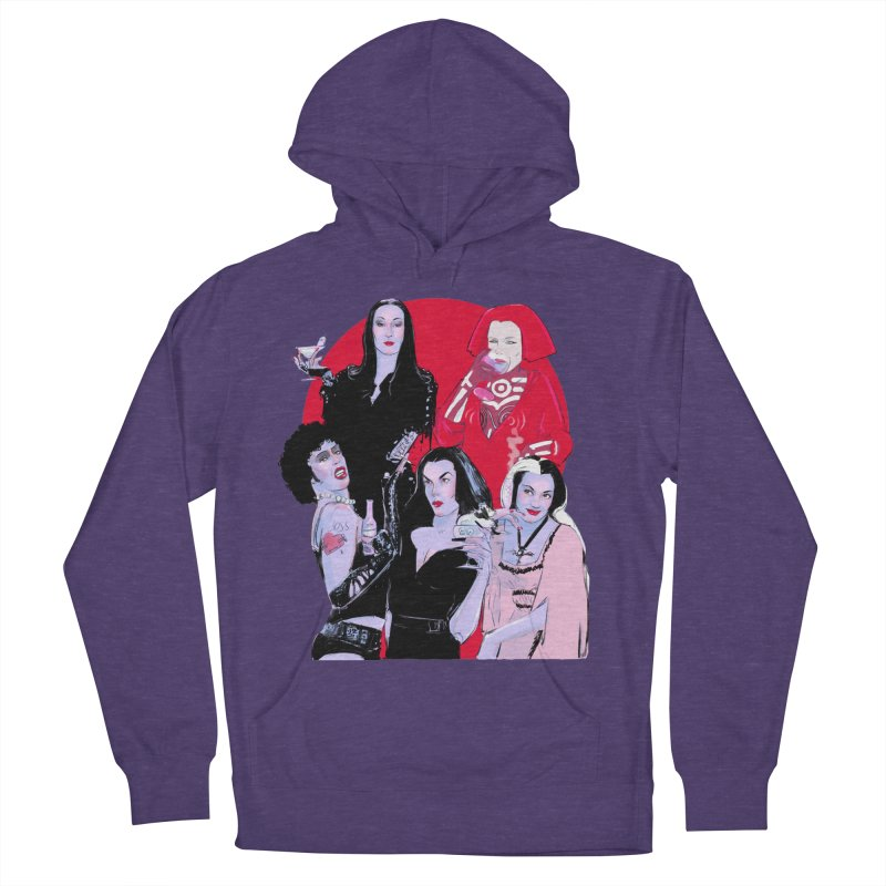 Ghouls Nite Out Women's French Terry Pullover Hoody by Ego Rodriguez