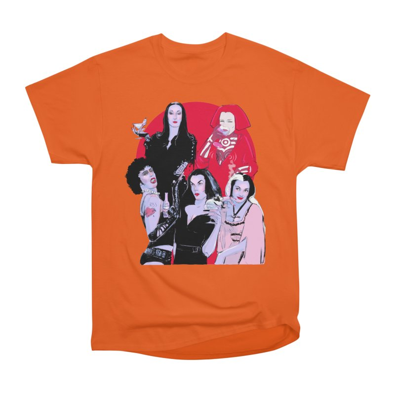 Ghouls Nite Out Women's Heavyweight Unisex T-Shirt by Ego Rodriguez