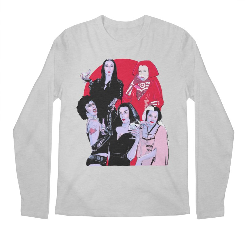 Ghouls Nite Out Men's Regular Longsleeve T-Shirt by Ego Rodriguez