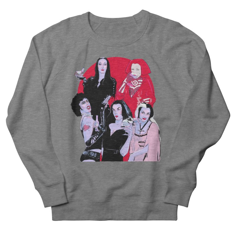 Ghouls Nite Out Women's French Terry Sweatshirt by Ego Rodriguez