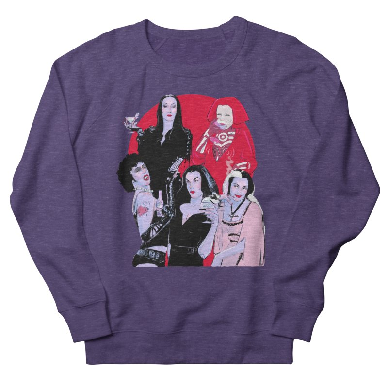 Ghouls Nite Out Men's French Terry Sweatshirt by Ego Rodriguez