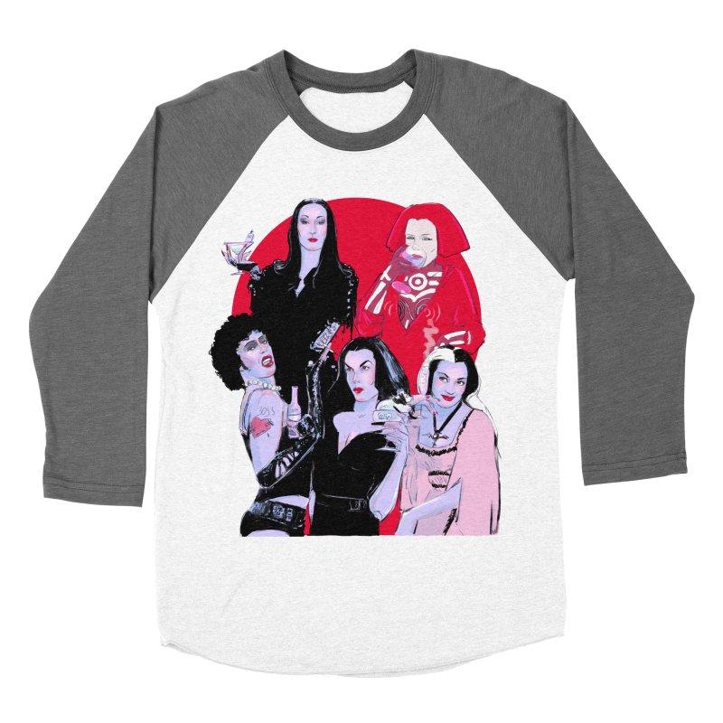 Ghouls Nite Out Women's Baseball Triblend Longsleeve T-Shirt by Ego Rodriguez
