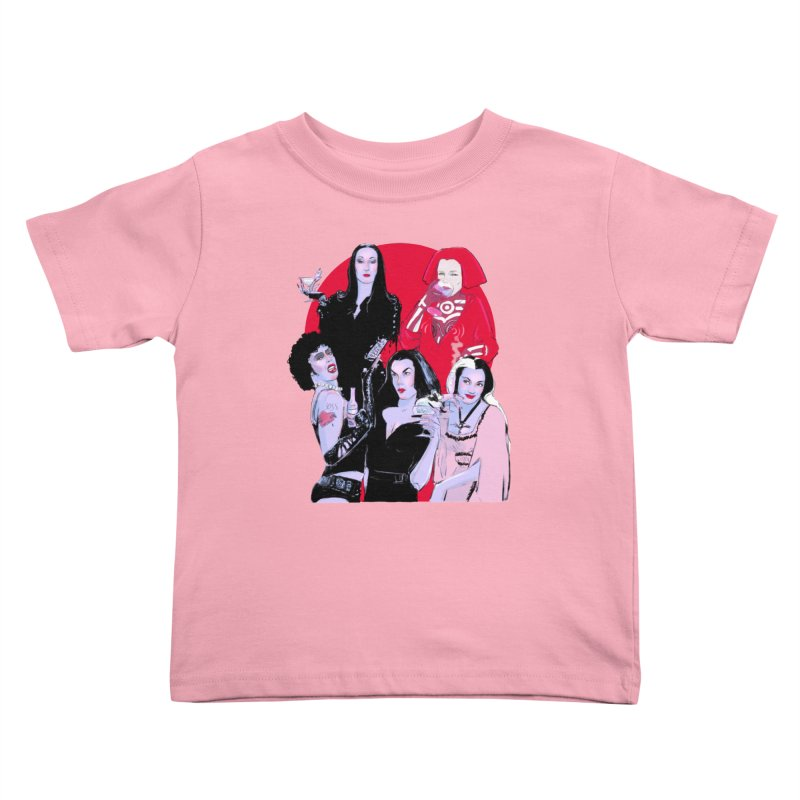 Ghouls Nite Out Kids Toddler T-Shirt by Ego Rodriguez