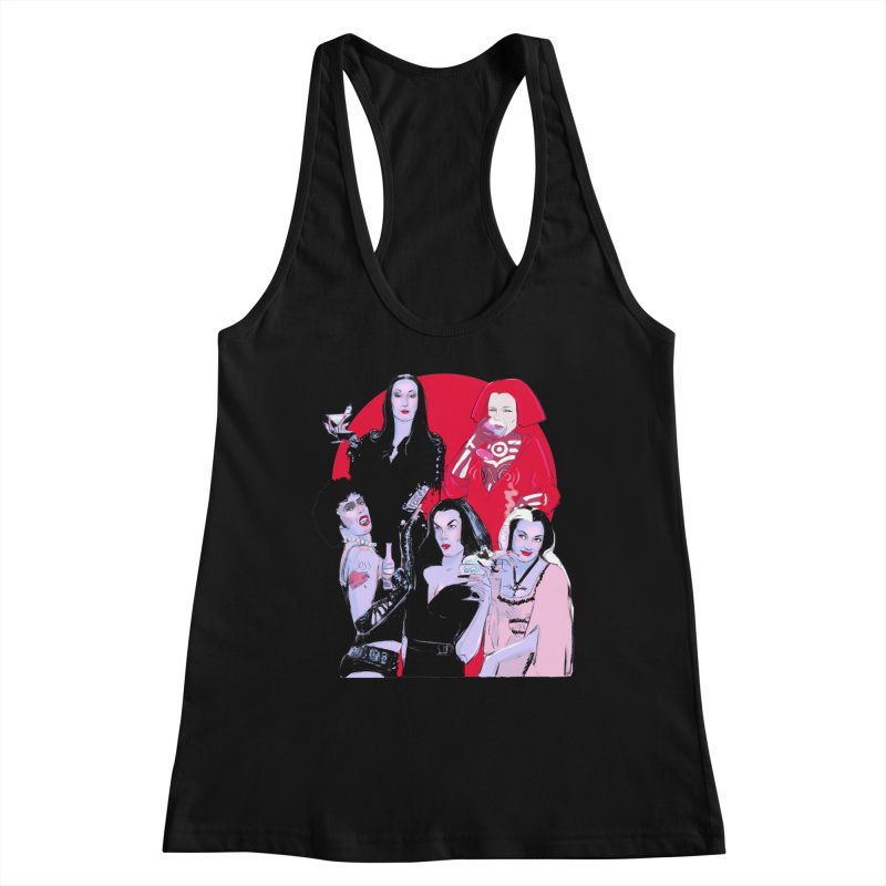 Ghouls Nite Out Women's Racerback Tank by Ego Rodriguez