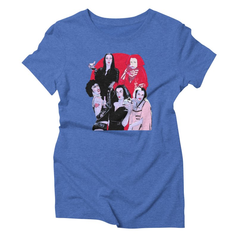 Ghouls Nite Out Women's Triblend T-Shirt by Ego Rodriguez