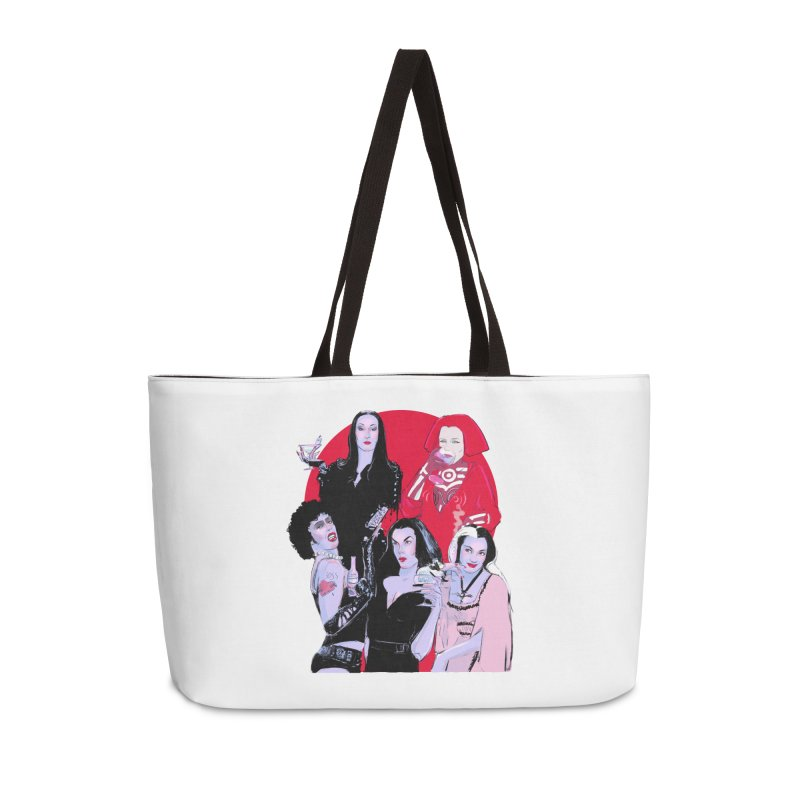 Ghouls Nite Out Accessories Weekender Bag Bag by Ego Rodriguez