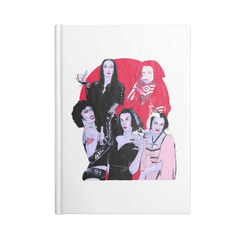 Ghouls Nite Out Accessories Blank Journal Notebook by Ego Rodriguez