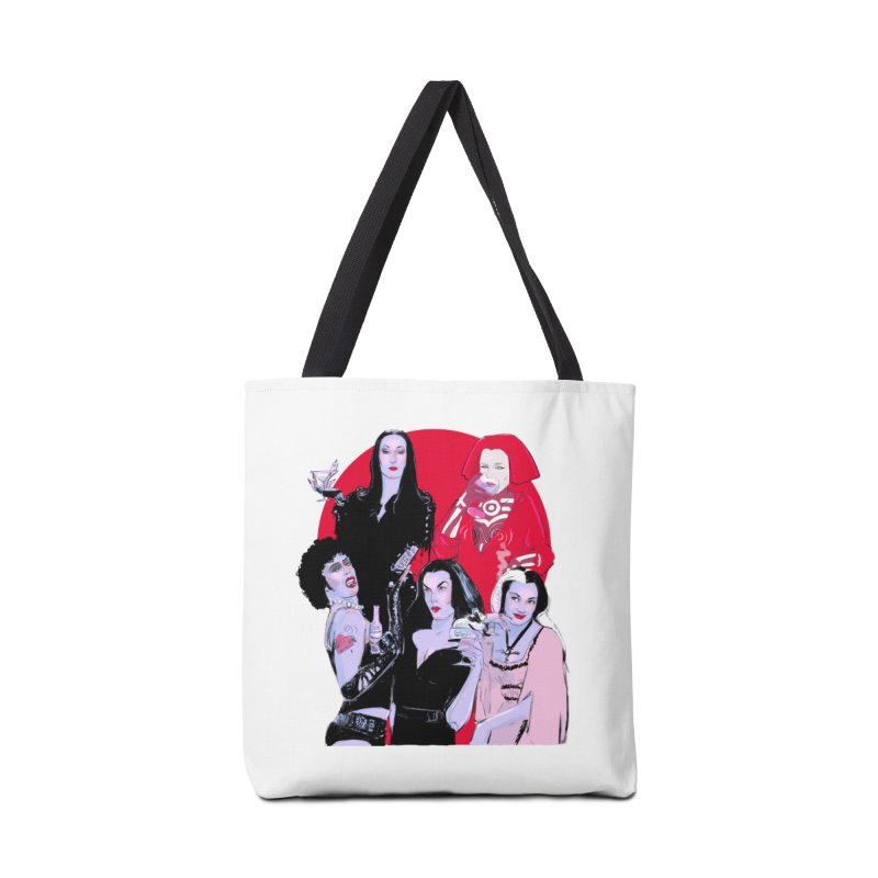 Ghouls Nite Out Accessories Tote Bag Bag by Ego Rodriguez