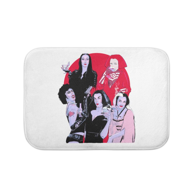 Ghouls Nite Out Home Bath Mat by Ego Rodriguez