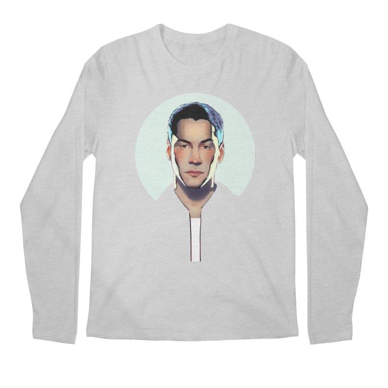 Keanu Men's Regular Longsleeve T-Shirt by Ego Rodriguez