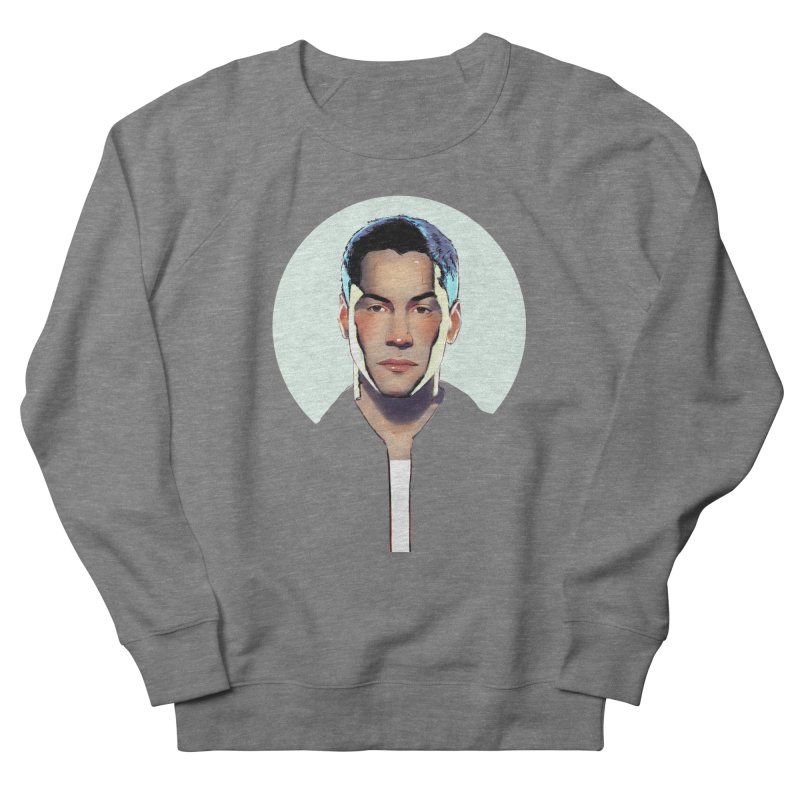 Keanu Men's French Terry Sweatshirt by Ego Rodriguez