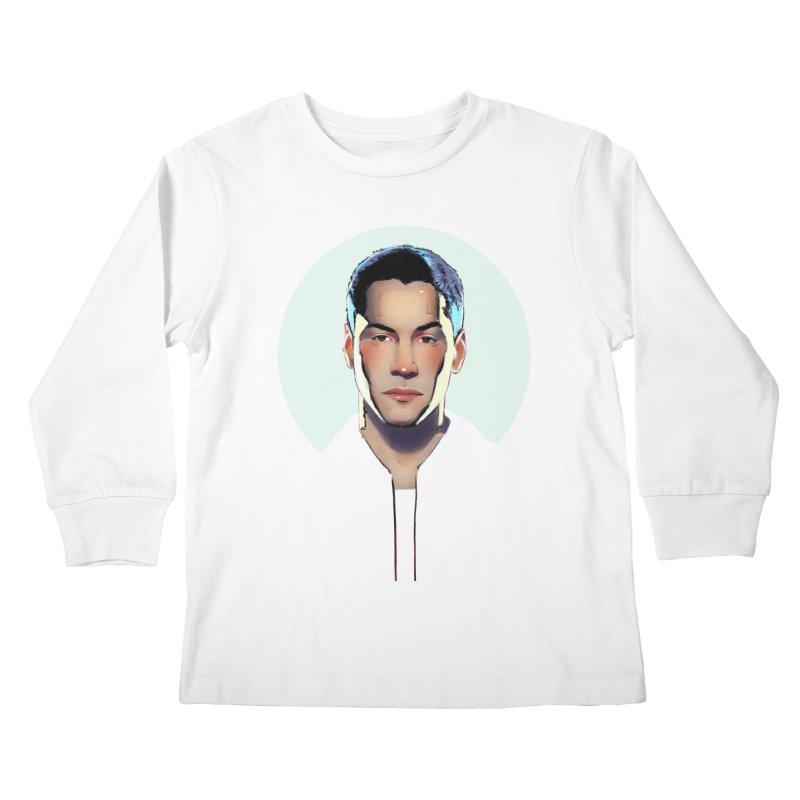 Keanu Kids Longsleeve T-Shirt by Ego Rodriguez