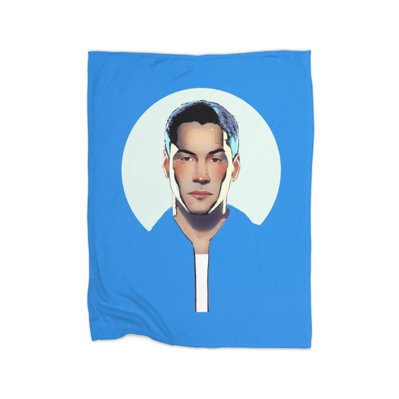 Keanu Home Blanket by Ego Rodriguez