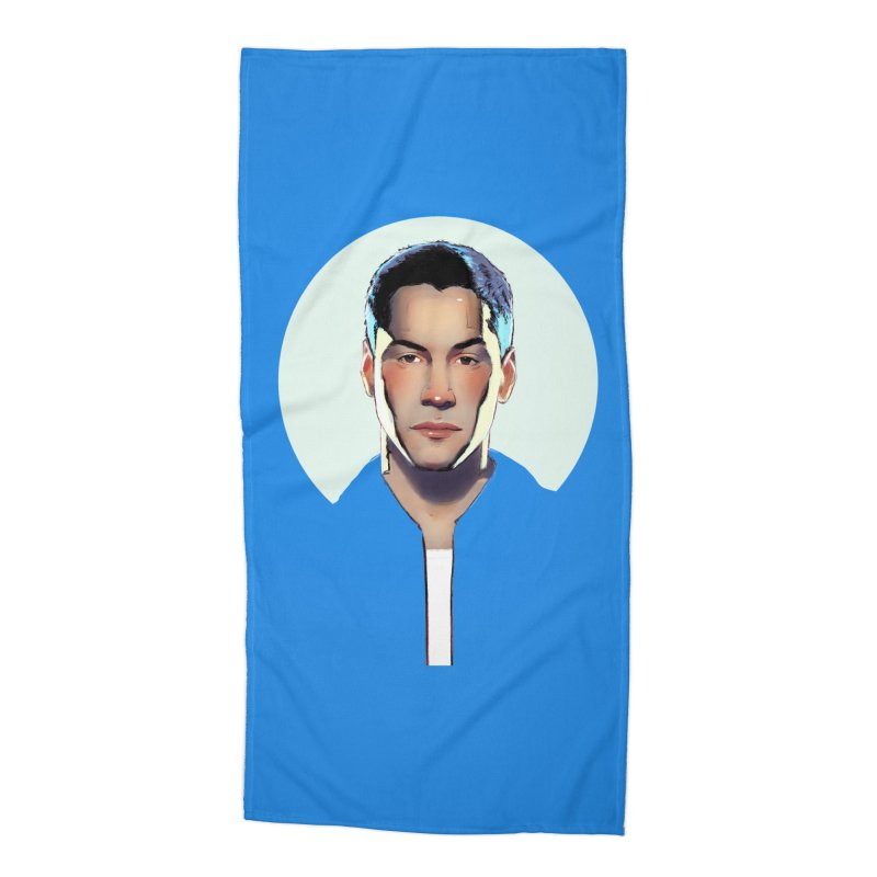 Keanu Accessories Beach Towel by Ego Rodriguez