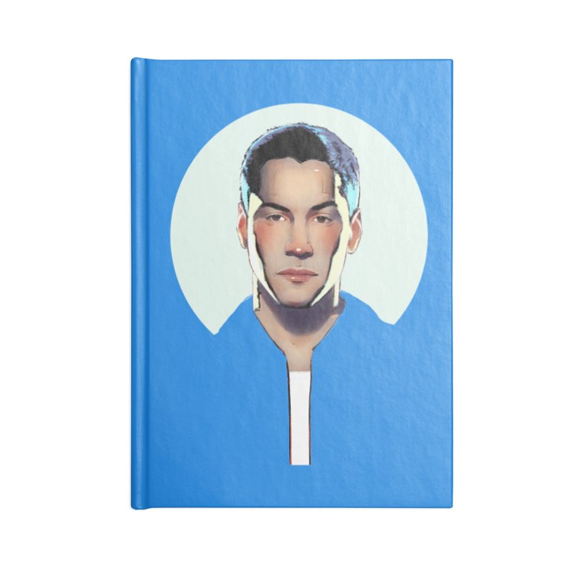 Keanu Accessories Blank Journal Notebook by Ego Rodriguez