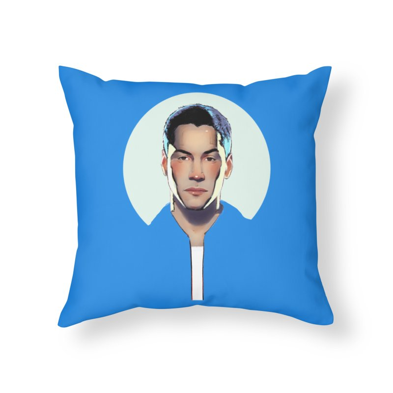 Keanu Home Throw Pillow by Ego Rodriguez