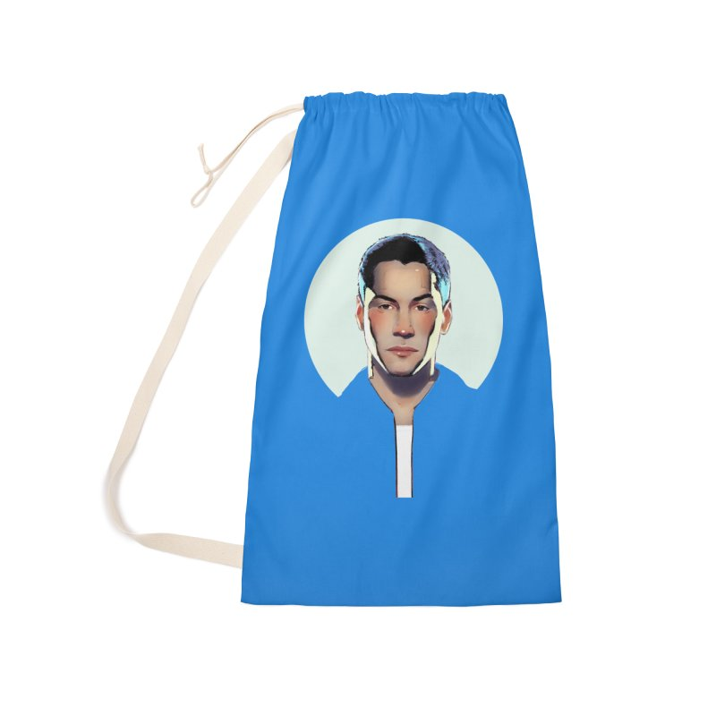 Keanu Accessories Laundry Bag Bag by Ego Rodriguez