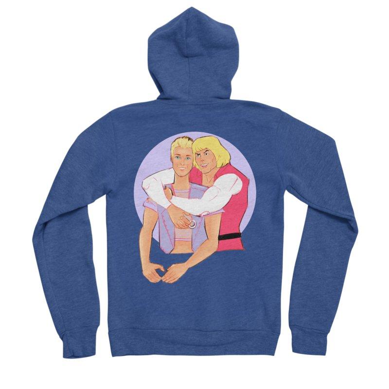 Ken + Adam Women's Sponge Fleece Zip-Up Hoody by Ego Rodriguez