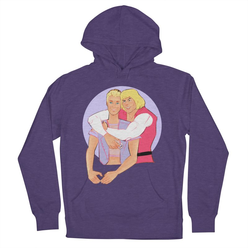 Ken + Adam Men's French Terry Pullover Hoody by Ego Rodriguez