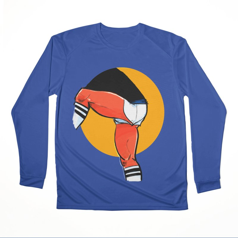Laces Men's Performance Longsleeve T-Shirt by Ego Rodriguez