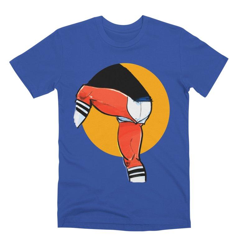 Laces Men's Premium T-Shirt by Ego Rodriguez