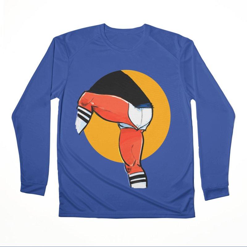 Laces Women's Performance Unisex Longsleeve T-Shirt by Ego Rodriguez